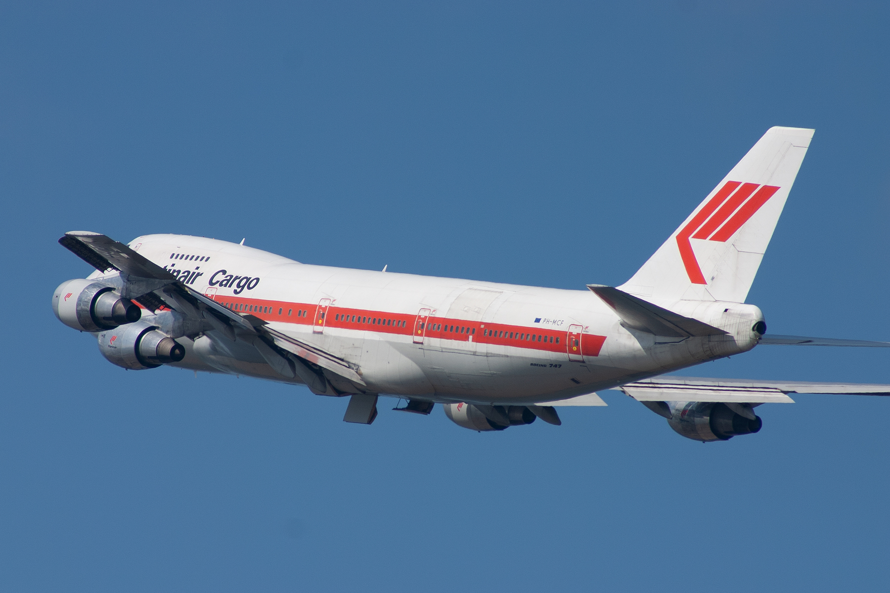Martinair ret Boeing 747-200C PH-MCF at Kingsford Smith