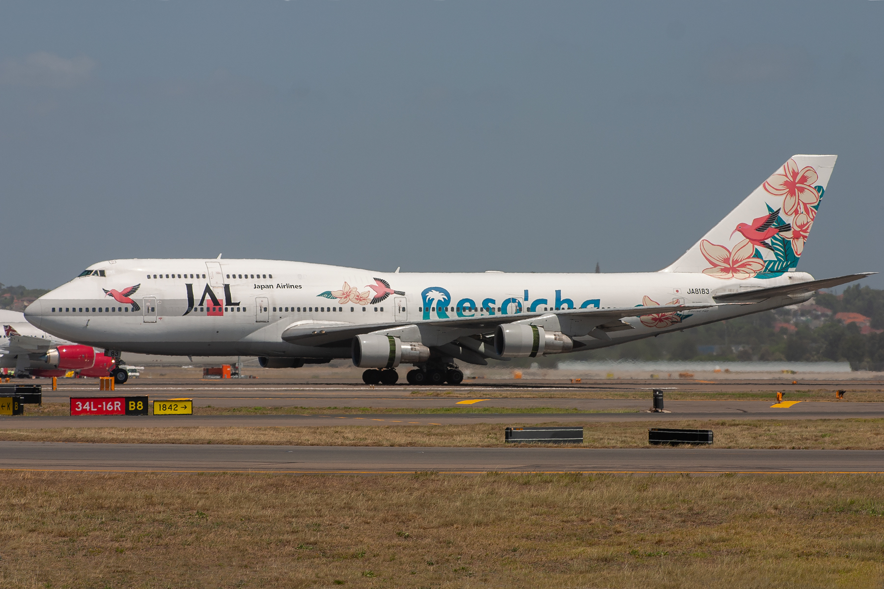 Japan Airlines Boeing 747-300SR JA8183 at Kingsford Smith
