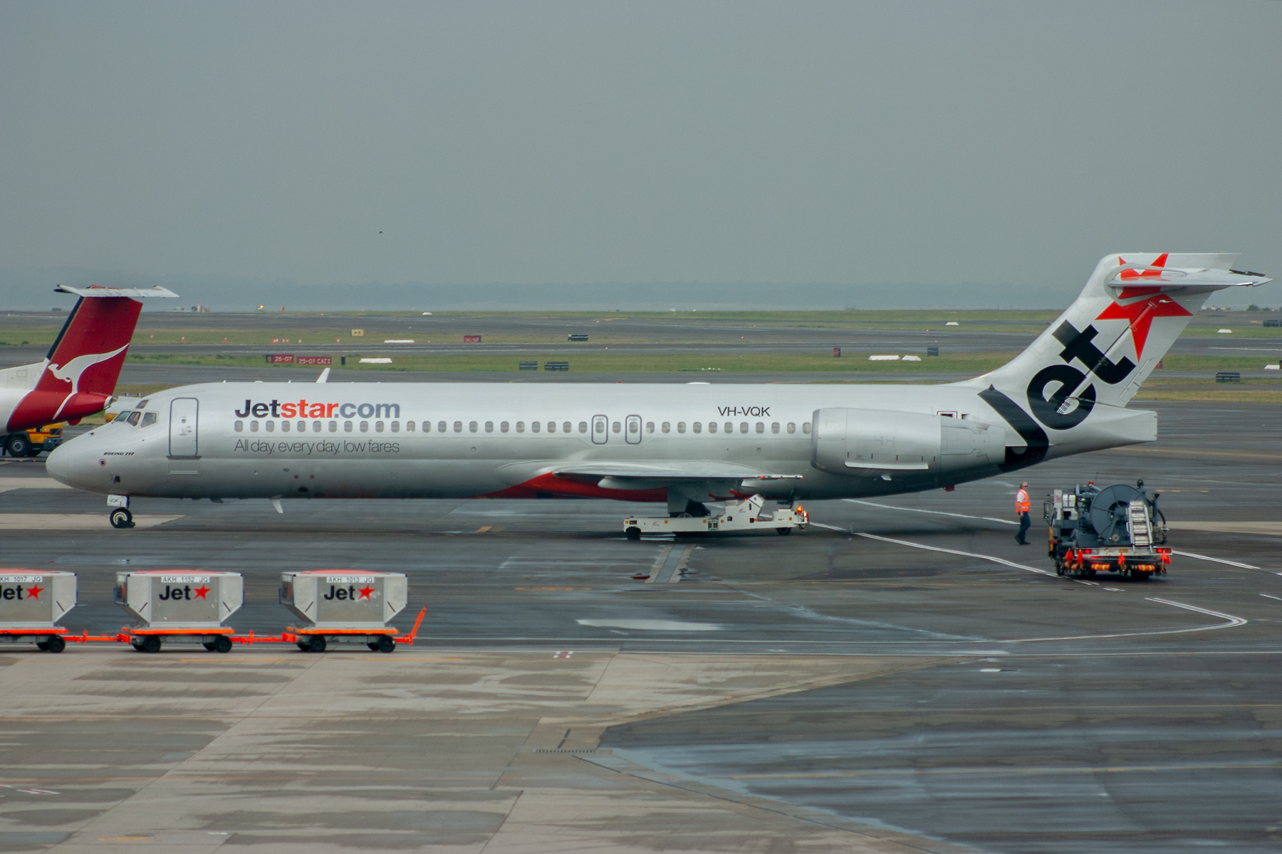 Jetstar Airways Boeing 717-200 VH-VQK at Kingsford Smith