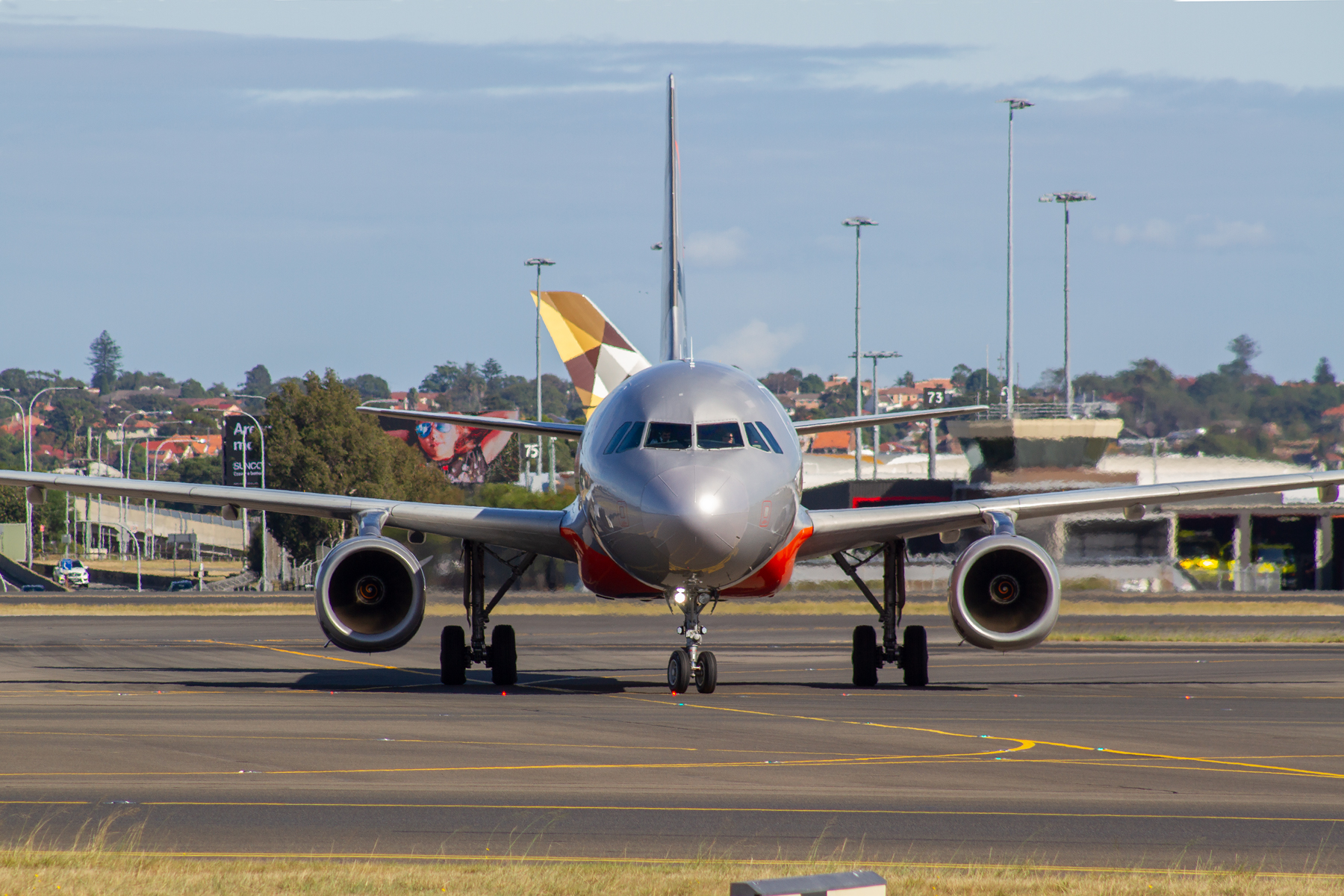 Jetstar Airways Airbus A320-200 VH-VGH at Kingsford Smith
