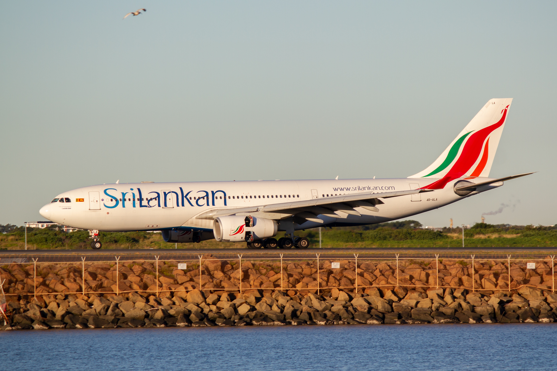SriLankan Airlines Airbus A330-200 4R-ALA at Kingsford Smith