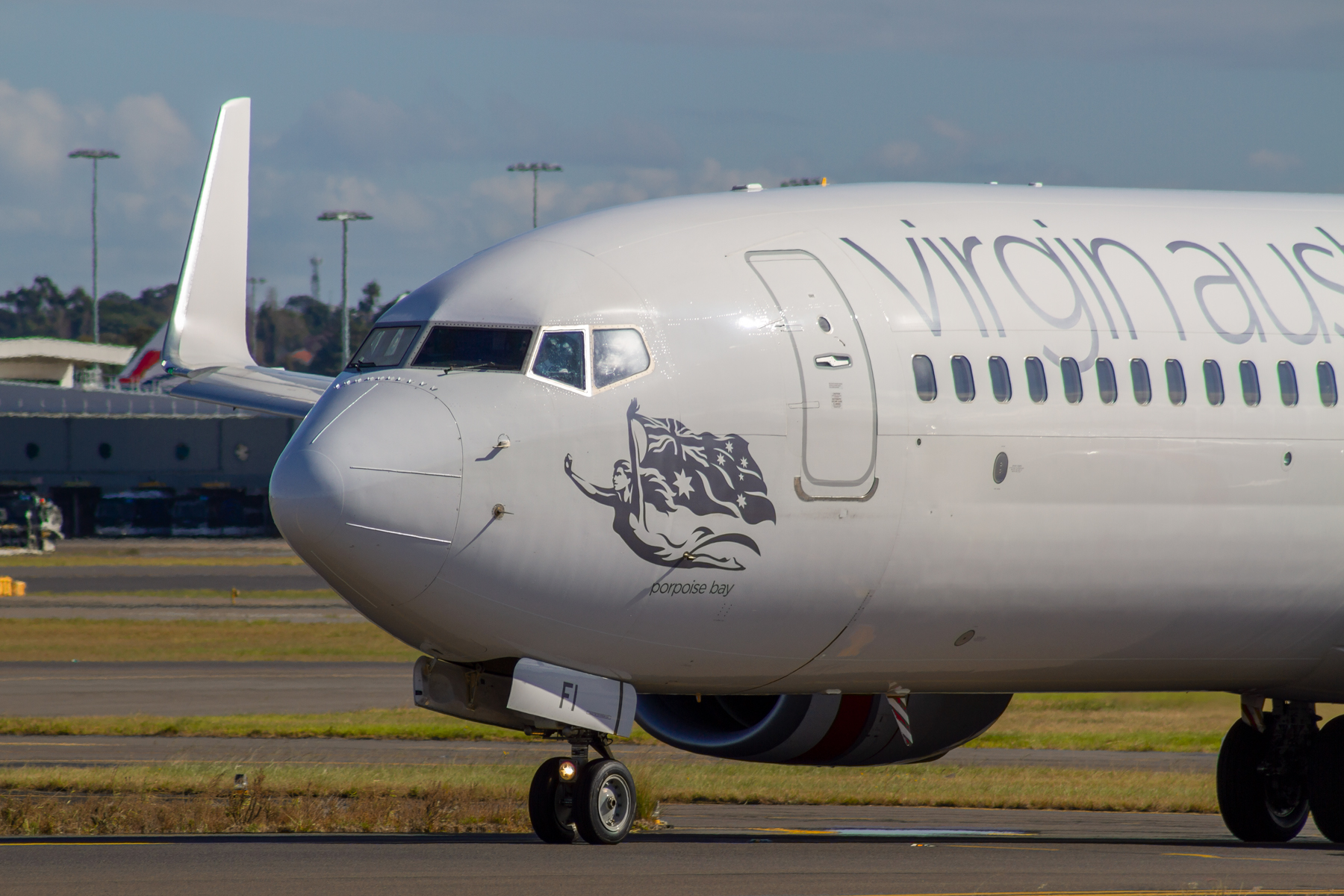 Virgin Australia Airlines Boeing 737-800 VH-YFI at Kingsford Smith