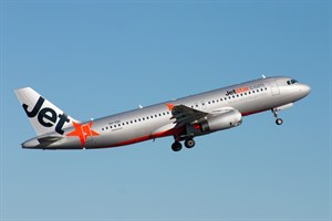 Jetstar Airways Airbus A320-200 VH-VQU at Kingsford Smith