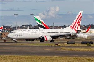 Virgin Australia Airlines Boeing 737-800 VH-VOK at Kingsford Smith