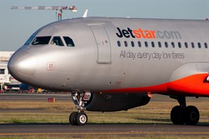 Jetstar Airways Airbus A320-200 VH-VQO at Kingsford Smith