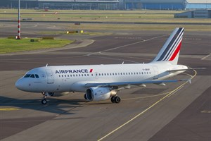 Air France Airbus A319-100 F-GRXF at Schiphol