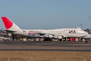 Japan Asia Airways Boeing 747-300 JA8185 at Kingsford Smith