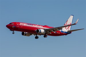 Virgin Blue Airlines Boeing 737-800 VH-VOD at Kingsford Smith