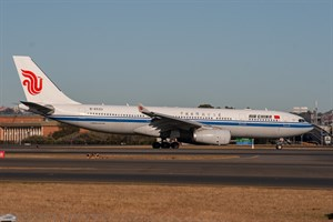 Air China Airbus A330-200 B-6533 at Kingsford Smith