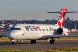 QantasLINK Boeing 717-200 VH-NXJ at Kingsford Smith