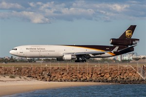 UPS McDonnell Douglas MD11 N294UP at Kingsford Smith