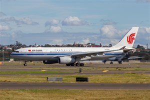 Air China Airbus A330-200 B-6541 at Kingsford Smith