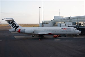 Jetstar Airways Boeing 717-200 VH-LAX at Kingsford Smith