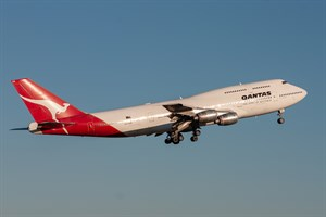 Qantas Boeing 747-300 VH-EBW at Kingsford Smith