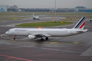 Air France Airbus A321-200 F-GTAU at Schiphol