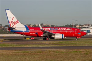 Virgin Blue Airlines Boeing 737-700 VH-VBU at Kingsford Smith