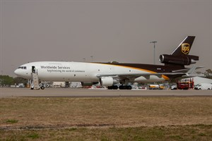 UPS McDonnell Douglas MD11 N295UP at Kingsford Smith