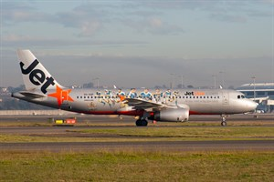 Jetstar Airways Airbus A320-200 VH-VQP at Kingsford Smith
