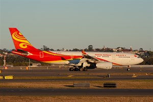 Hainan Airlines Airbus A330-200 B-6519 at Kingsford Smith