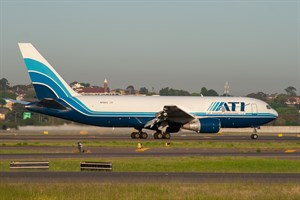 Air Transport Int'l Boeing 767-200F N761CX at Kingsford Smith
