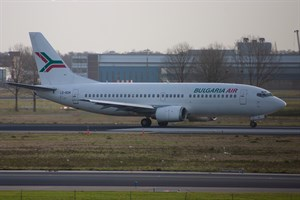 Bulgaria Air Boeing 737-300 LZ-BOK at Schiphol
