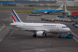 Air France Airbus A319-100 F-GRHP at Schiphol