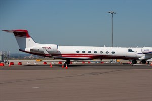 Norman Aircraft Leasing Gulfstream G550 N1GN at Kingsford Smith