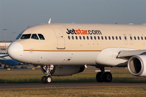 Jetstar Airways Airbus A320-200 VH-JQW at Kingsford Smith